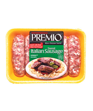 Premio Sweet Italian Sausage and Premio Hot Italian Sausage