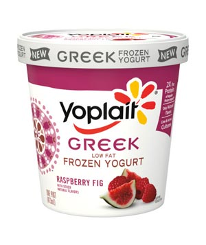 Yoplait Frozen Yogurt Greek Raspberry Fig