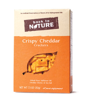 Back to Nature Crispy Cheddar Crackers (box)