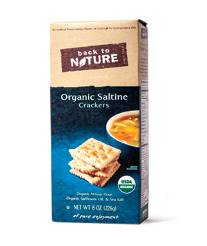 Back to Nature Organic Saltine Crackers (box)