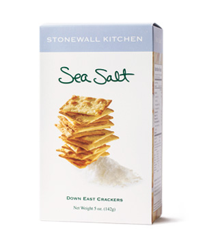 Stonewall Kitchen Sea Salt Down East Crackers (box)