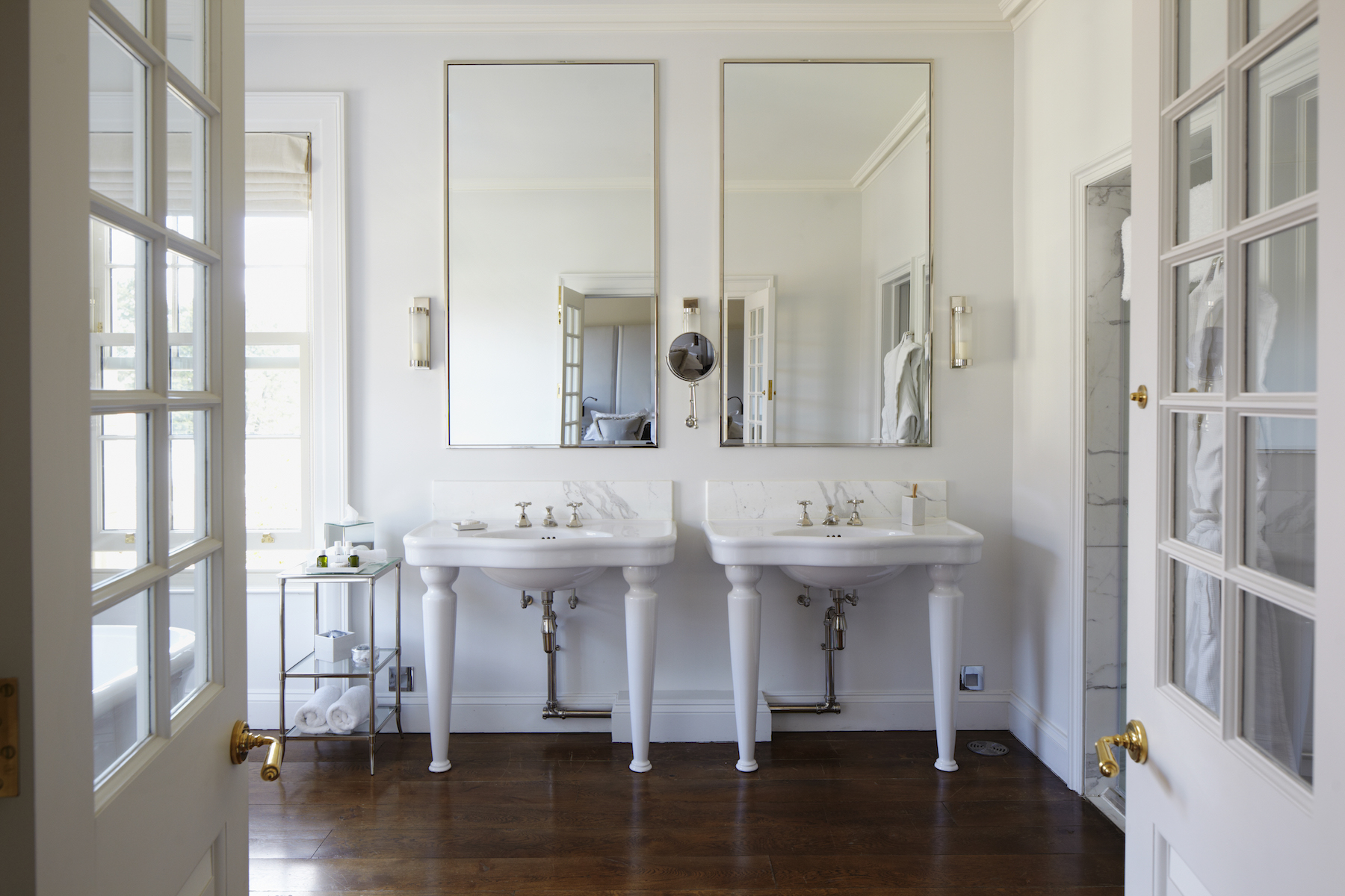 The Fastest Way To A Cleaner Bathroom Real Simple - Fastest way to clean a bathroom