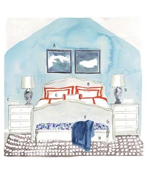 Illustration: bedroom