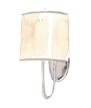 Illustration: wall sconce