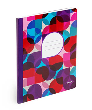 Purple Kaleidoscope Composition Book