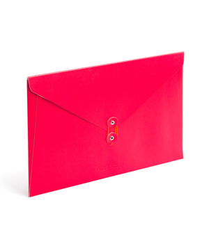 Red Soft Cover Folio