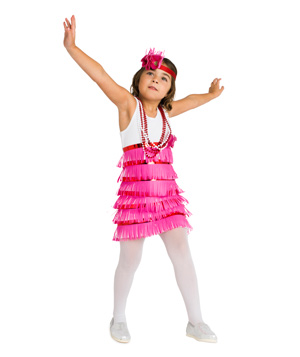 Flapper costume  sc 1 st  Real Simple & 24 Homemade Kids Halloween Costumes - Real Simple