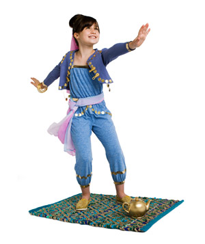 Genie costume 2  sc 1 st  Real Simple & 24 Homemade Kids Halloween Costumes - Real Simple