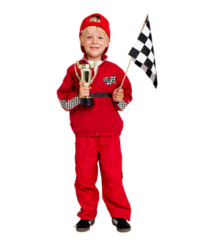 Race Car Driver Costume  sc 1 st  Real Simple & 24 Homemade Kids Halloween Costumes - Real Simple
