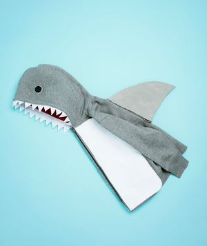 24 homemade kids halloween costumes real simple shark costume how to solutioingenieria Gallery