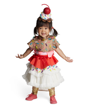 Ice Cream Sundae costume  sc 1 st  Real Simple & 24 Homemade Kids Halloween Costumes - Real Simple