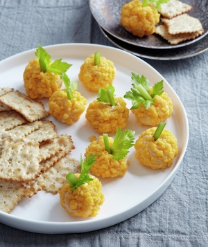 Pumpkin Cheese Balls
