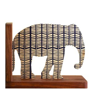 Rampli Elephant Bookend