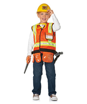 Construction Worker Play Set
