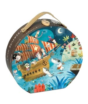 Pirate Treasure Hunt Hat Boxed Puzzle