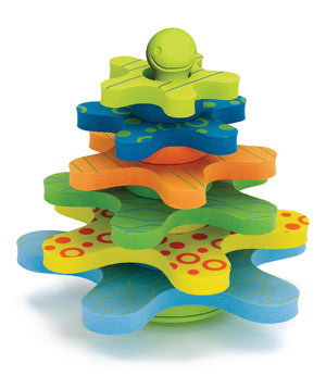 Stay-Put Bath Stacker