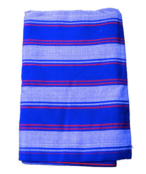 Blue Masaai Blanket