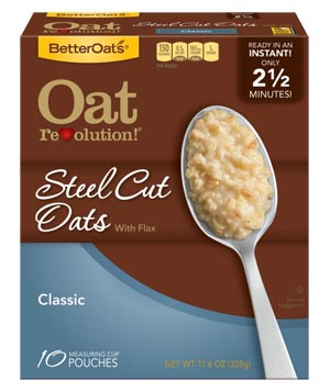BetterOats Classic Steel Cut Oats