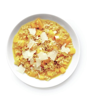 Butternut Squash and Barley Risotto