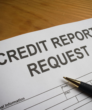 Credit report request