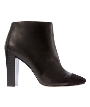 Loft Juliet Cap Toe Booties