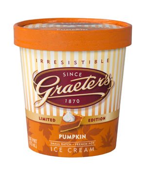 Graeter's Pumpkin Ice Cream