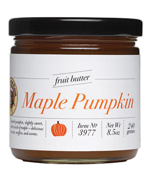 King Arthur Flour Maple Pumpkin Butter