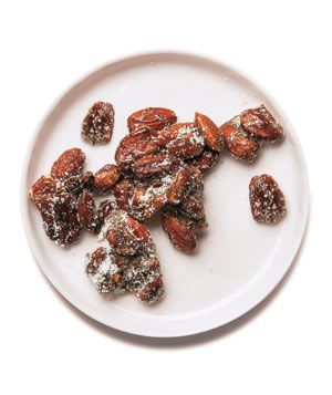 Sweet and Spicy Candied Nuts
