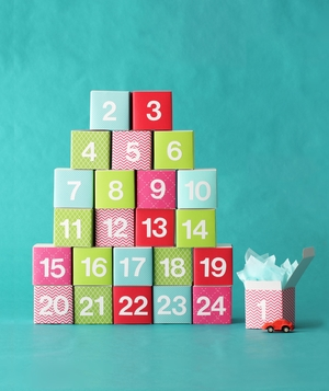 Boxes advent calendar