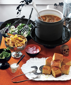 Halloween serving set
