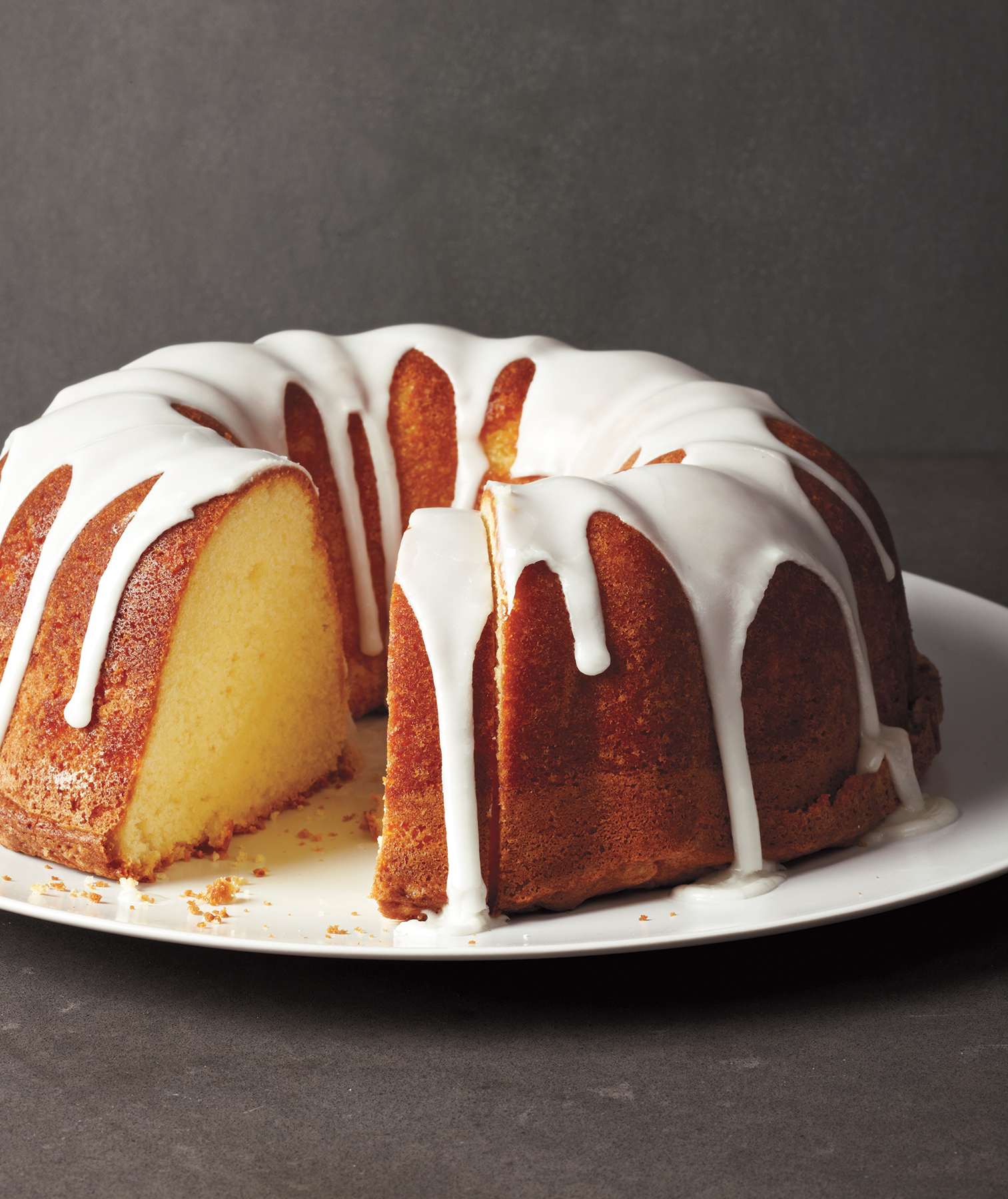 Glazed Lemon Pound Cake Recipe Real Simple