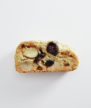 Dried Fig And Blanched Almond Biscotti