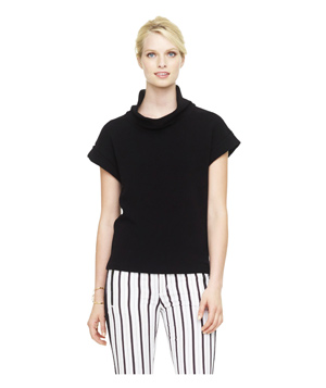 Club Monaco Adriana Cowl Neck Top