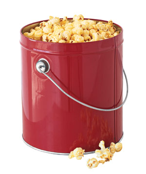 Create Your Own popcorn tin