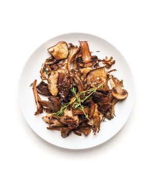 Crispy Roasted Mushrooms