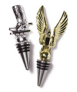 Vintage-trophy bottle stoppers