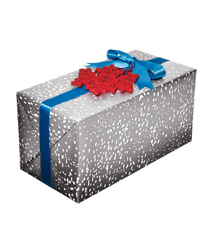 Frost gift wrap