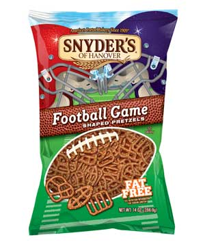 Snyder's Football Game Shaped Pretzels