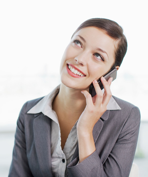 how to prepare for a phone interview businesswoman on phone - How To Prepare For A Phone Interview