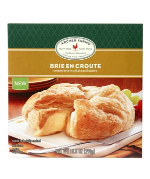 Archer Farms Brie en Croute
