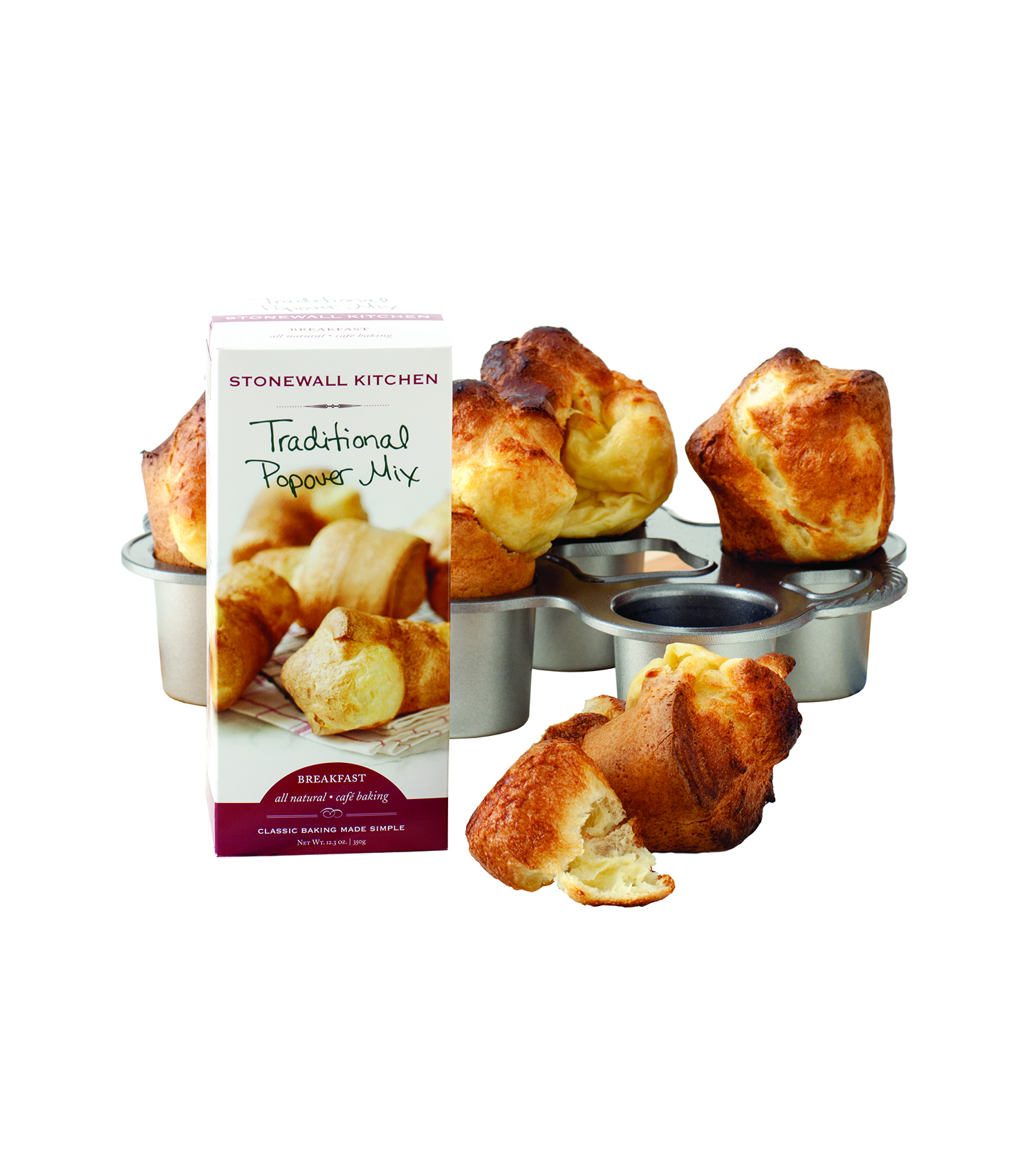 Popover Pan and Mix Kit