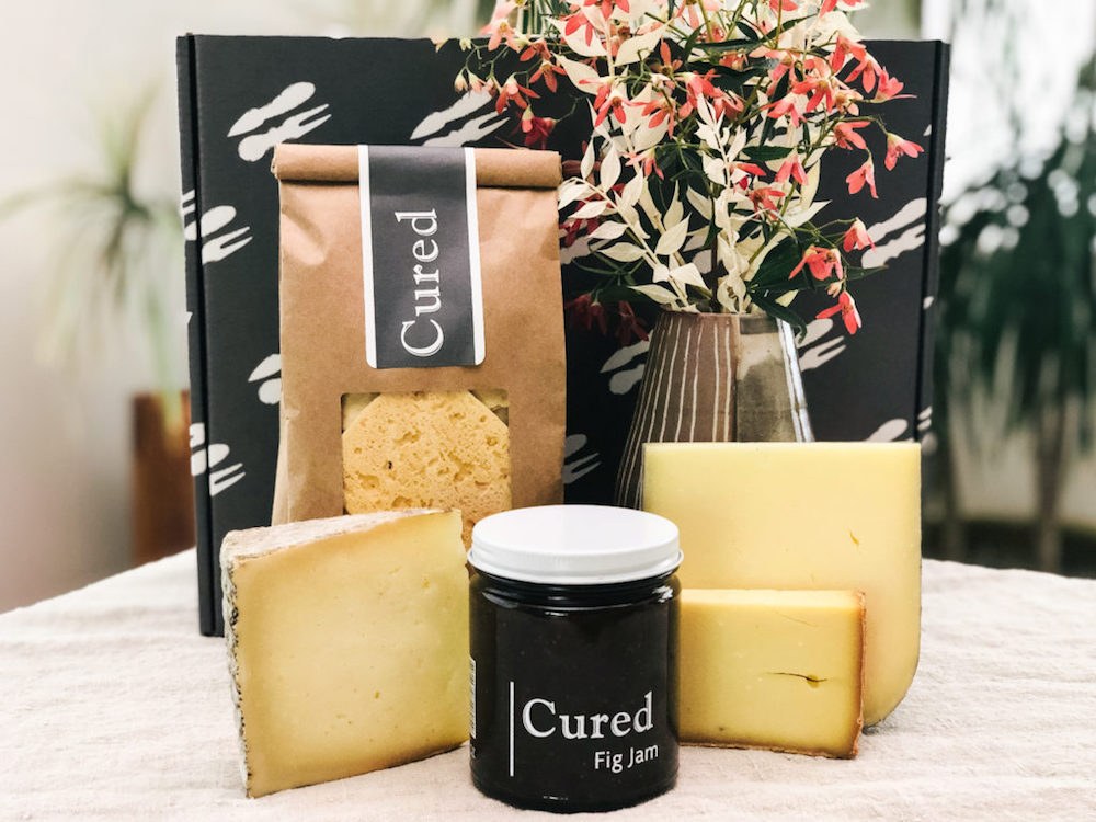 Gifts for Foodies: Cheesemonger's Choice Cheeses and Fig Preserve