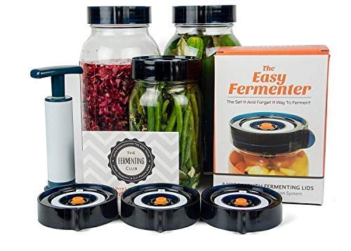 Gifts for Foodies: Easy Fermenter Wide Mouth Lid Kit on Amazon