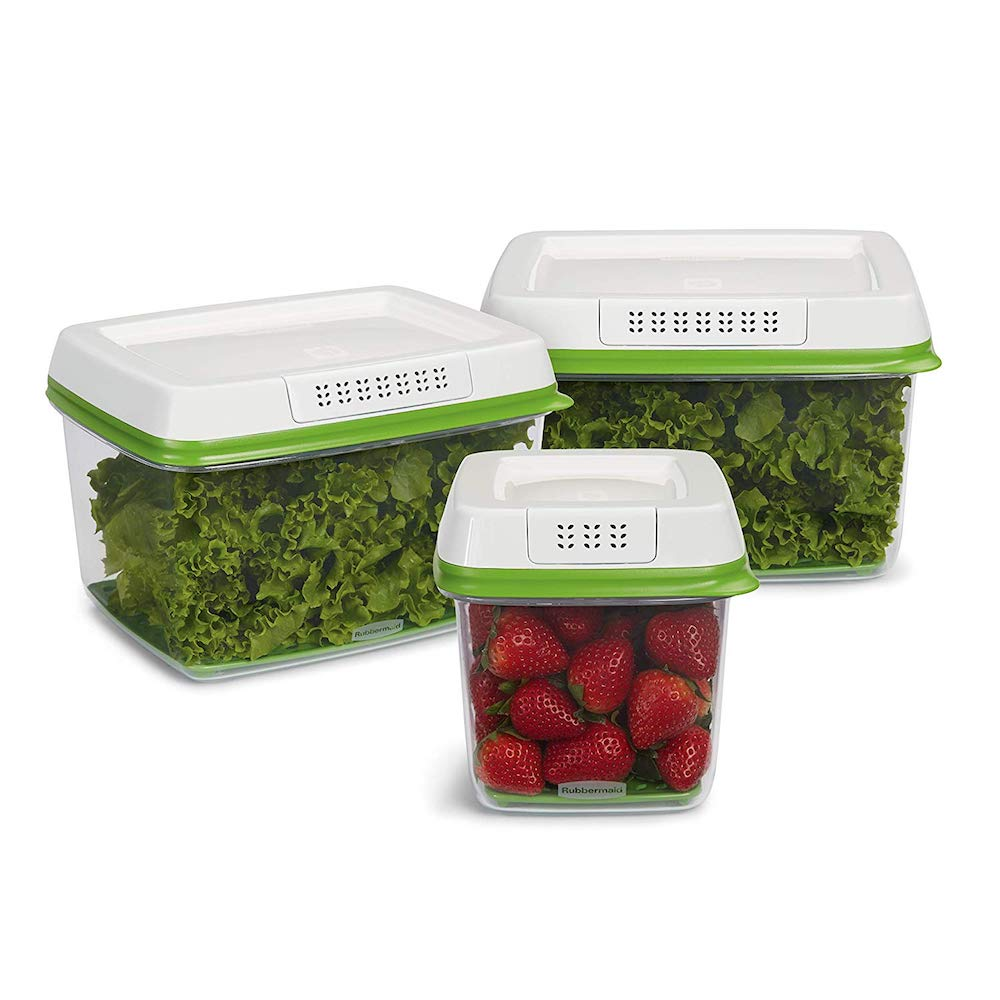Gifts for Foodies: Rubbermaid Produce Savers