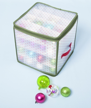 Ball ornament storage