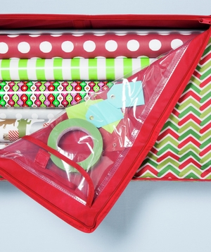 Holiday Wrap & Tote Organizer