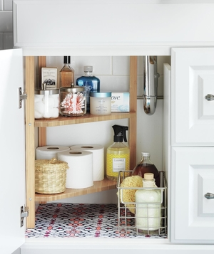 Bathroom Cabinets Organizing Ideas bathroom storage and organizing ideas | real simple