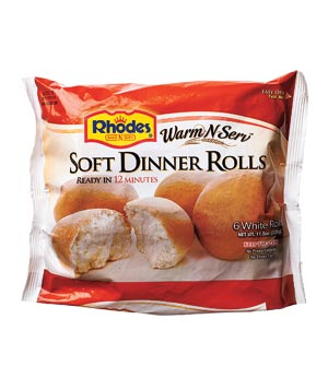 Rhodes Warm-N-Serv Soft Dinner Rolls