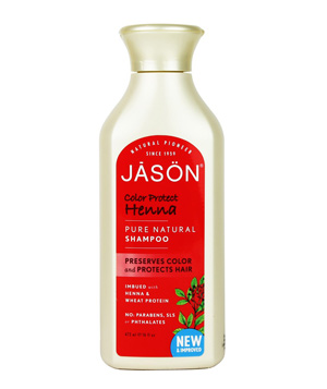 Jasön Color Protect Henna Pure Natural Shampoo