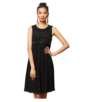 Vineet Bahl Beaded Charon Dress